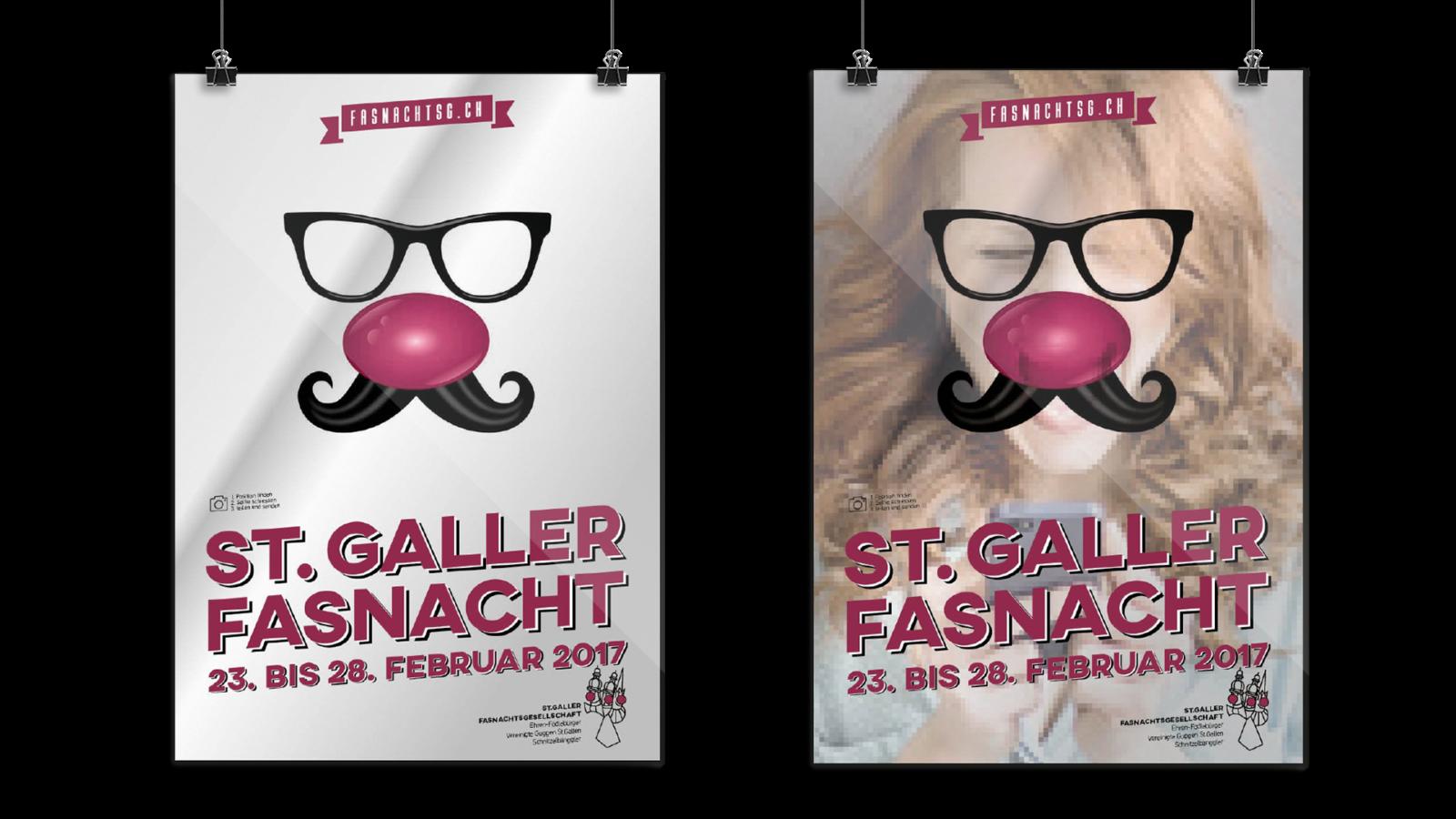 ST. GALLER FASNACHT –Fasnachtsplakat 2017