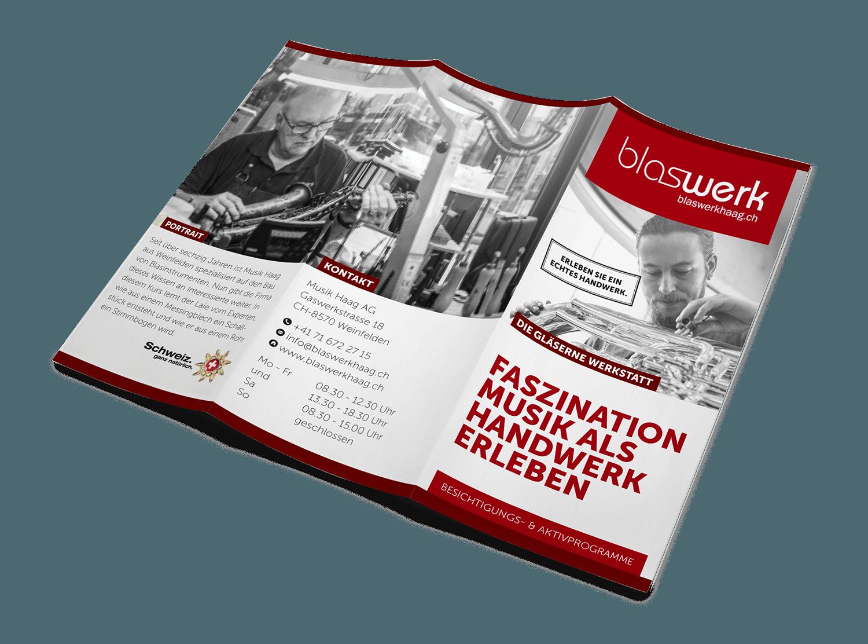 BLASWERK HAAG –Kommunikation Betriebsbesichtigungen