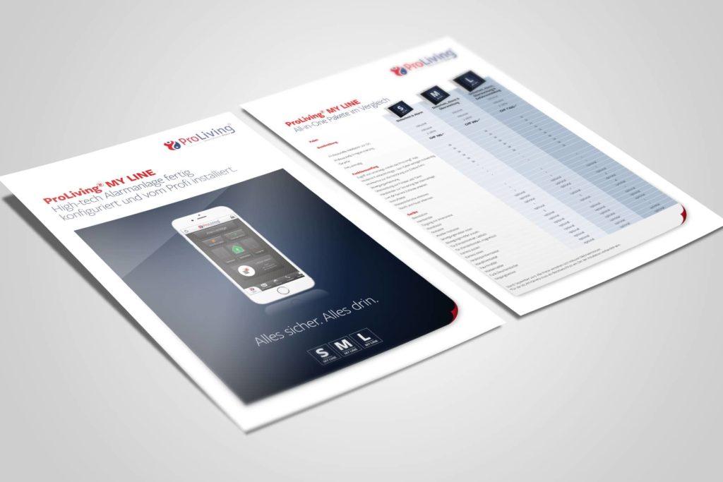 PROLIVING SYSTEMS AG – Sales Folder für ProLiving® MY LINE