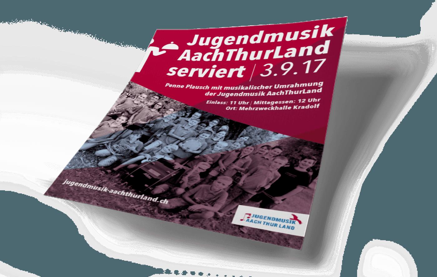 JUGENDMUSIK AACHTHURLAND – FLYER EVENT