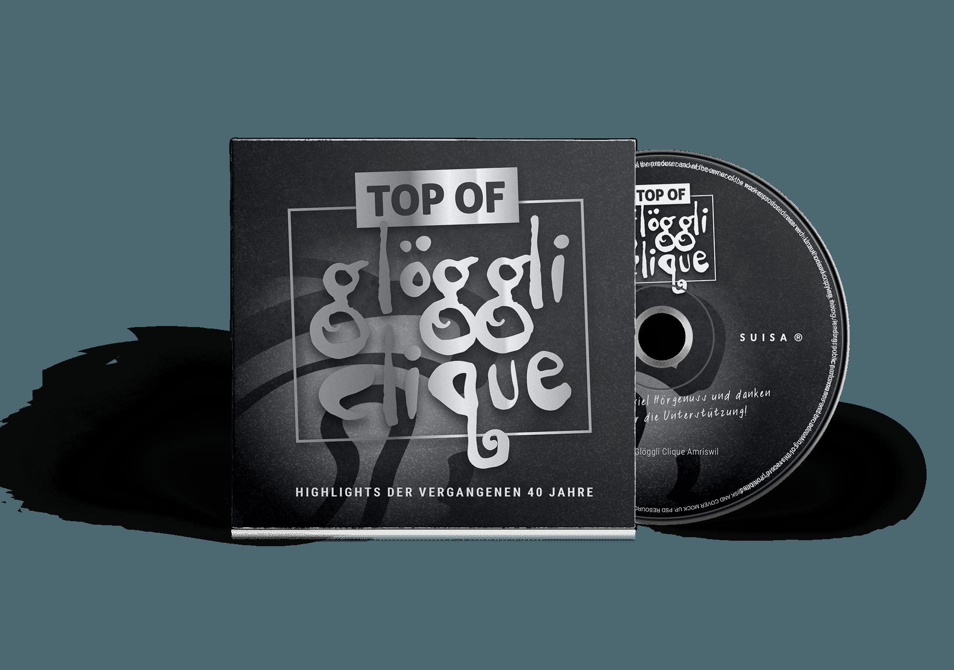 CD Produktion und Booklet-Gestaltung –Glöggli Clique