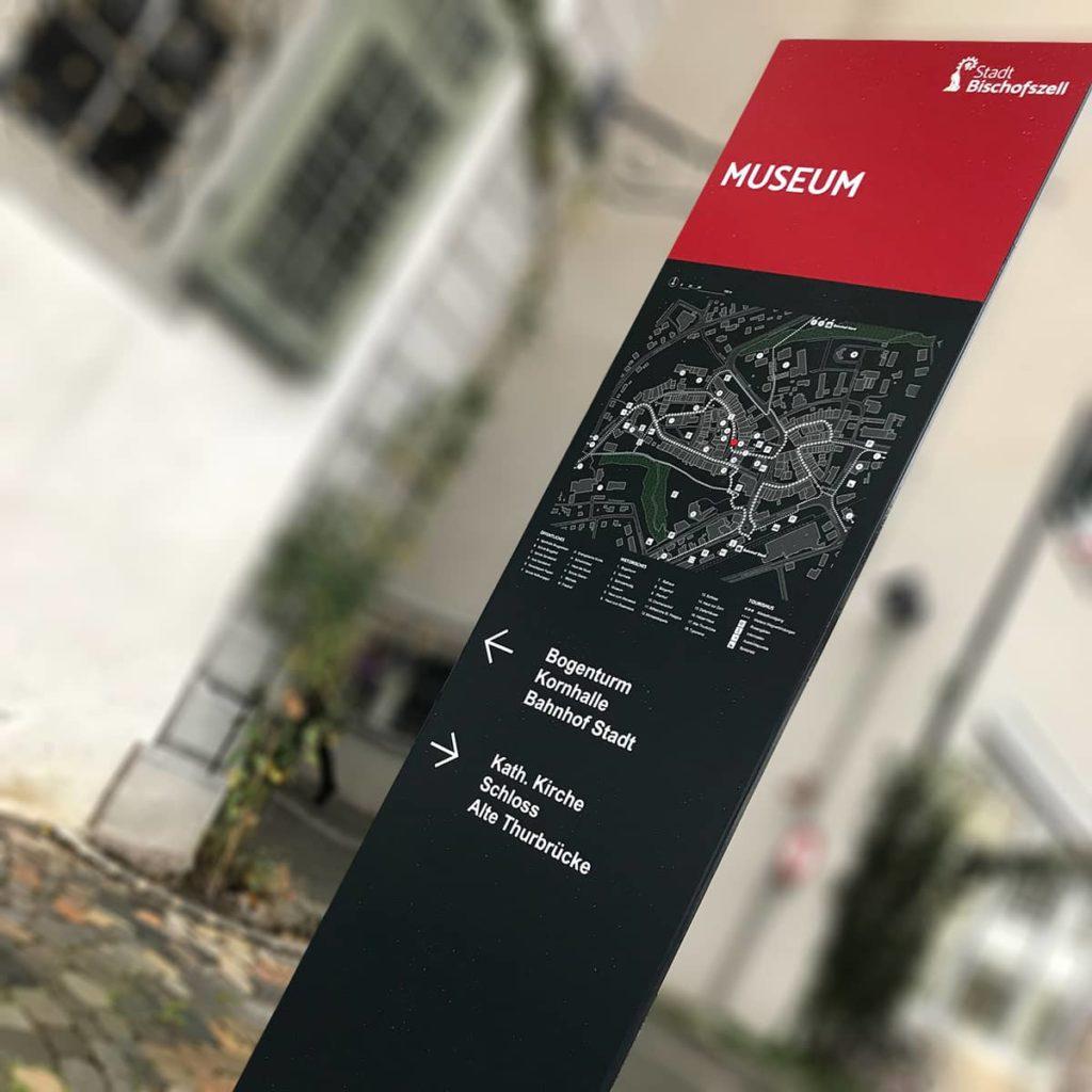 Signaletik und Leitsystem – Stadt Bischofszell