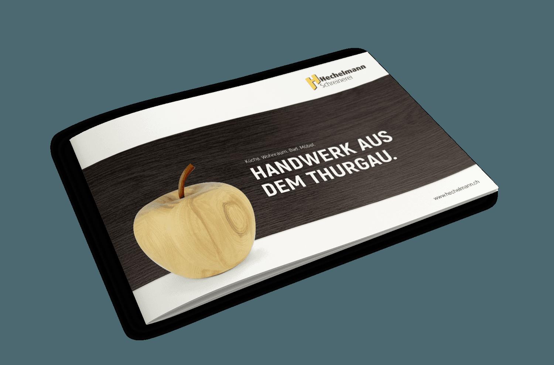 Imagebroschüre – Schreinerei Hechelmann