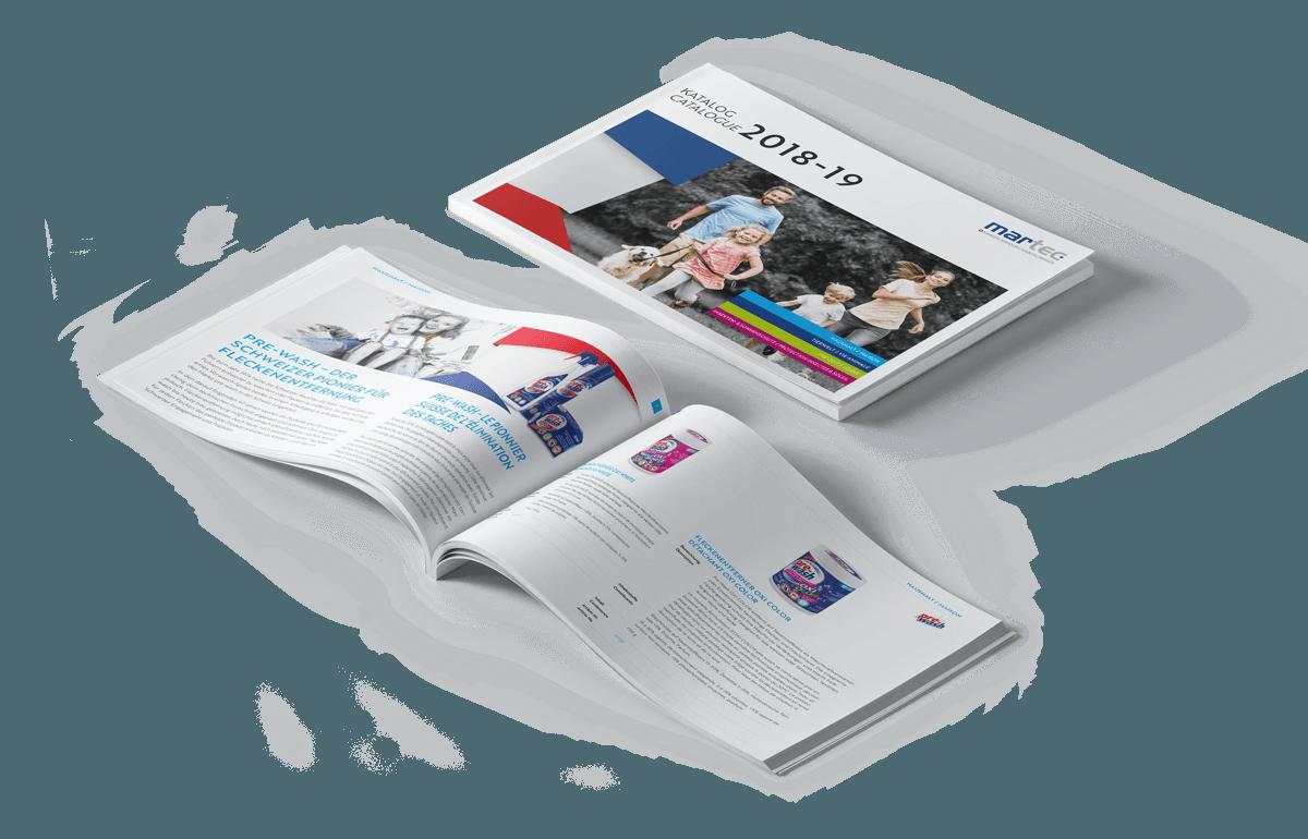 Martec Handels AG – Konzeption und Gestaltung Katalog 2019