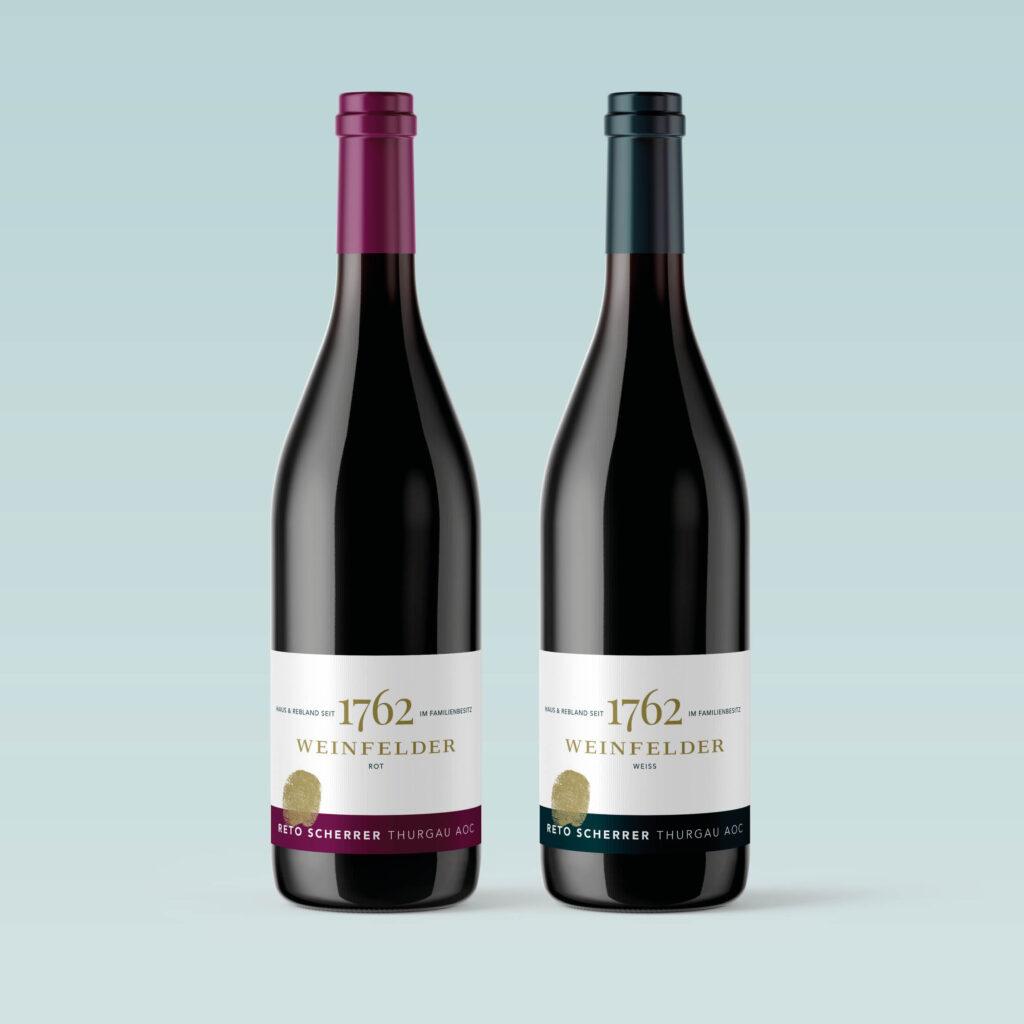 Weinfelder Wein, Reto Scherrer