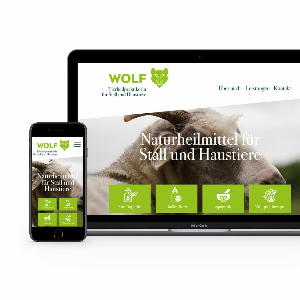 Judith Wolf – Tierheilpraktikerin